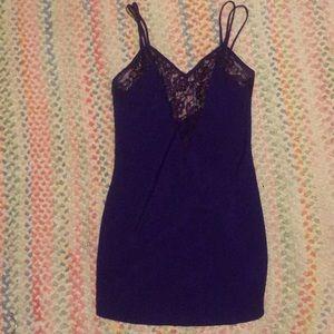 Victoria's Secret nightgown slip purple  small